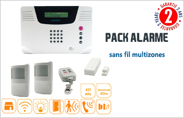 alarmes securite alarme maison sans fil systeme alarme sans fil kit alarme anti intrusion. Black Bedroom Furniture Sets. Home Design Ideas