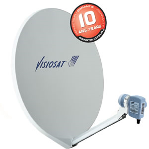 antenne satellite visiosat