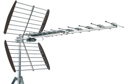 Antenne exterieure UHF -  44 elements - 15,5 dB