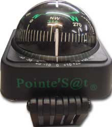 boussole de pointage satellite