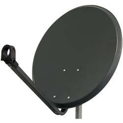 Antenne Parabolique en Acier 60 cm (59 x 54 cm) - Gris foncé