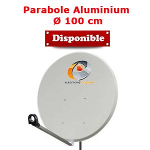 Antenne Parabolique 100 cm en Aluminium