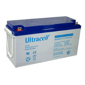 Batterie rechargeable accumulateur - 12v 150ah - plomb gel etanche - (483x171x241mm)