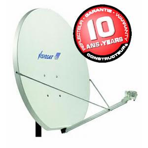 reception satellite visiosat