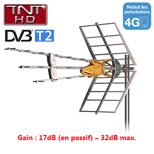 antenne dat hd boss 790 televes uhf tnt gain 17 db. Black Bedroom Furniture Sets. Home Design Ideas