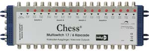 Multiswitch 17/6 Chess 17 entrées / 6 sorties