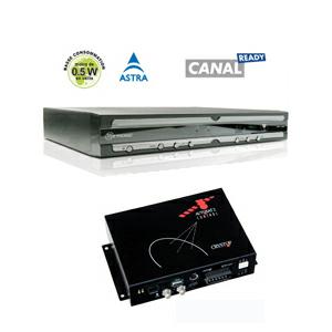 kit Camping Car - Control Box pour antenne AutoSat2 et AutoSat Light + Récepteur Metronic TNTSAT 12volts