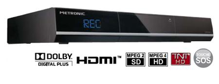 Adaptateur TNT HD avec fonction enregistrement - Metronic HDVR 1