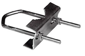 bride d trier en acier pour fixation d antenne metronic. Black Bedroom Furniture Sets. Home Design Ideas