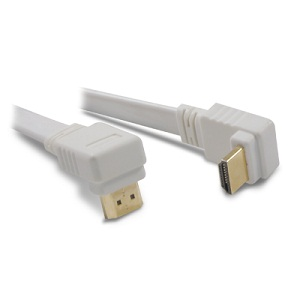 Cordon HDMI Plat a fiches coudees - 1.8m