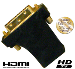 Adaptateur CBHDVI, DVI male - HDMI femelle