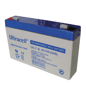 Batterie rechargeable Accumulateur - 6v 7ah - plomb gel etanche - (151x34x97.5mm)