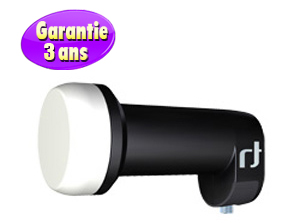 LNB Single 0.2 dB - 40 mm Inverto Black ultra – 3 ans de garantie