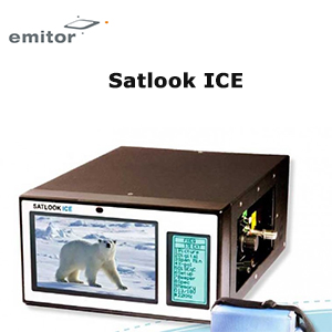 Mesureur de Champ satellite DVB-S  - Analyseur de spectre -  Emitor Satlook ICE