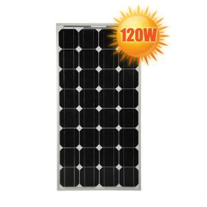panneau solaire monocristallin haut rendement 12v 120w. Black Bedroom Furniture Sets. Home Design Ideas
