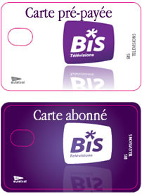 carte abonnement bis tv