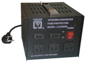 Convertisseur tension 110v vers 220v