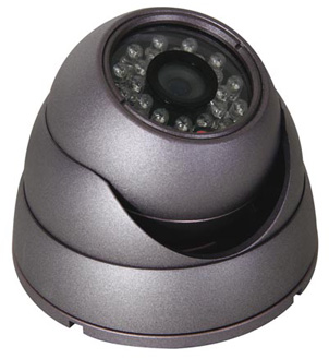 video surveillance dome couleur