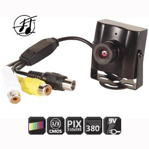 Camera couleur cmos audio