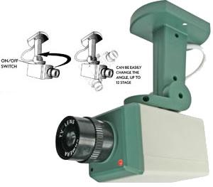 fausse camera de surveillance camera factice de surveillance. Black Bedroom Furniture Sets. Home Design Ideas