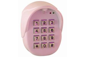 Clavier alarme  filaire a codes avec boitier plastique  pour toutes les marques d'automatisme de portail