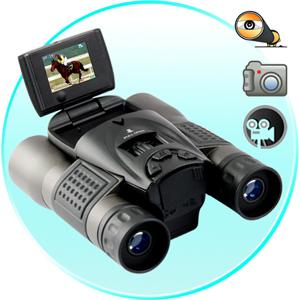 Camera numerique jumelle binoculaire