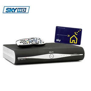 Abonnement Sky digital UK + Terminal Sky Digibox HD - disque dur 250 GO