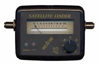 Pointeur Satellite-Sat Finder gradue
