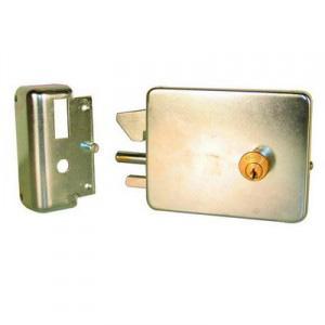 Serrure électrique Pour Portail Coulissant En Applique Avec Cylindre