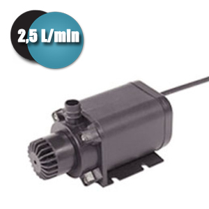 Pompe submersible universelle / 6 - 12 Volts 2,5 L/min