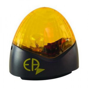 Feu fixe orange - 24 V - 40 W