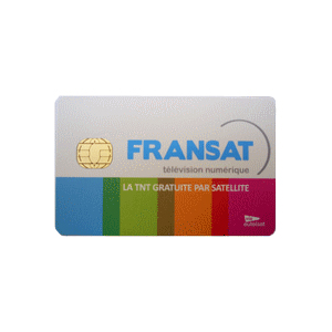Carte Fransat HD