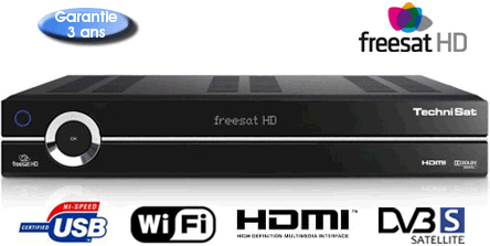 technisat HDFS pour freesat UK