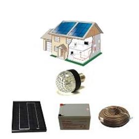 kit solaire complet eclairage ampoule leds 12 volts 5 watts. Black Bedroom Furniture Sets. Home Design Ideas