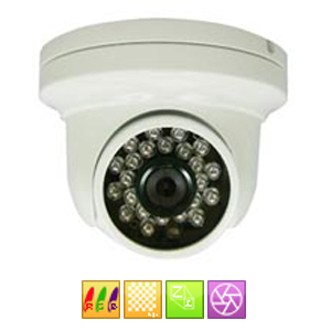 Camera dome de securite