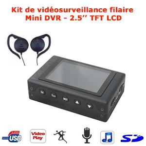 camera espion filaire