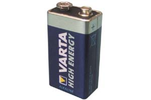 Pile alcaline VARTA HIGH ENERGY - 9V