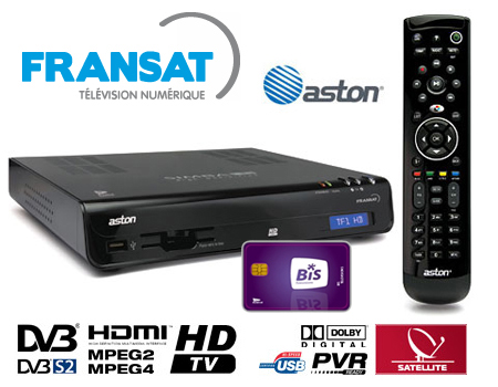 decodeur fransat Aston HD