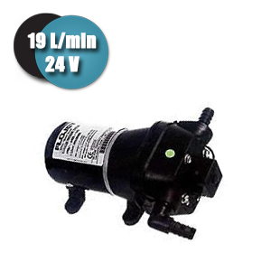 Pompe de surface Flojet 24 Volts 19 L/min 3,2 bars