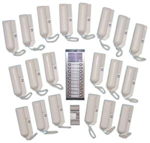 Portier Audio Collectif 20 Combines Interphone Platine