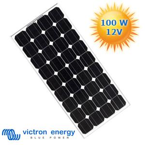 panneau solaire monocristallin haut rendement 100 watts 12 volts victron energy. Black Bedroom Furniture Sets. Home Design Ideas