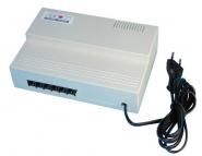 central telephonique 1 ligne reseau - 5 postes- commutateur fax integre