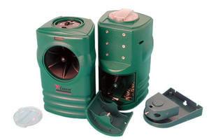 Repousse lectronique ultrasons chiens et chats avec for Boitier ultrason anti aboiement exterieur