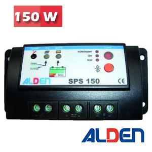 Regulateur de charge SPS 150W ALDEN