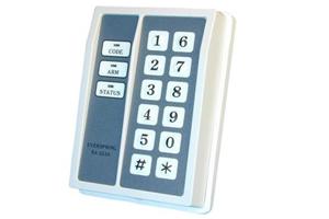 Clavier alarme filaire digital etanche IP64 auto protege 10 a 18Vcc 1 relais NO/NF