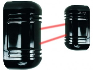 Barriere infrarouge 2 faisceaux 150m interieur et 75m for Barriere infrarouge exterieur