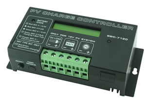 Regulateur de charge SBC 12V-30A LCD