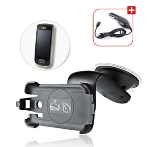 support de voiture pour telephone portable lg p500 avec. Black Bedroom Furniture Sets. Home Design Ideas