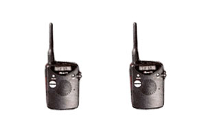 Lot de 2 Talkie Walkie - Portée jusquà 2 km - Sporty