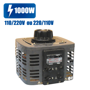 Convertisseur transformateur variable 1000w - changeur tension 110/220 220/110v